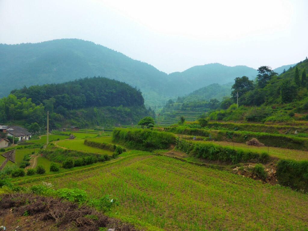 Landschaft um Guankeng
