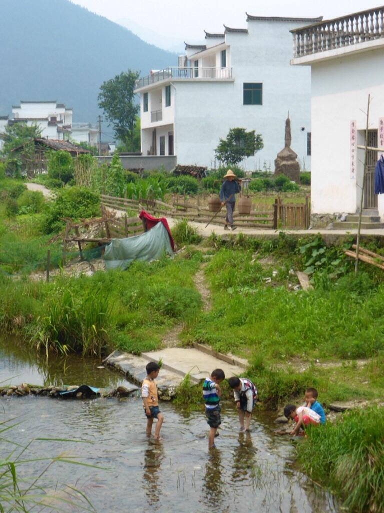 Ländliches China in Guankeng