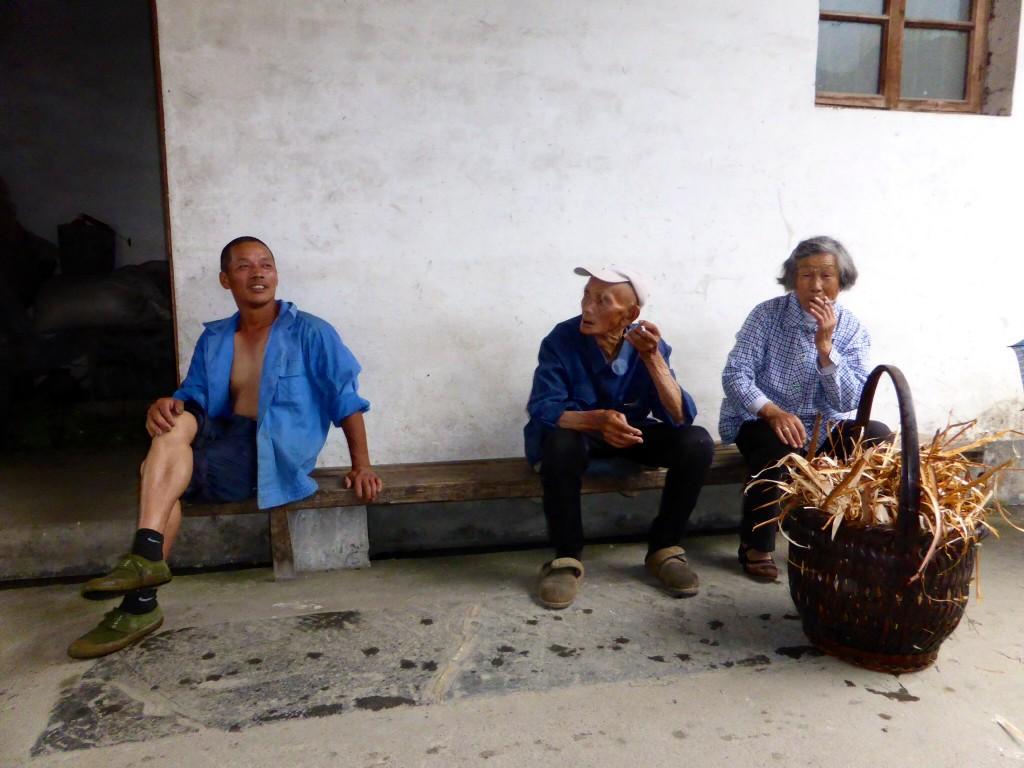 Plausch in Guankeng