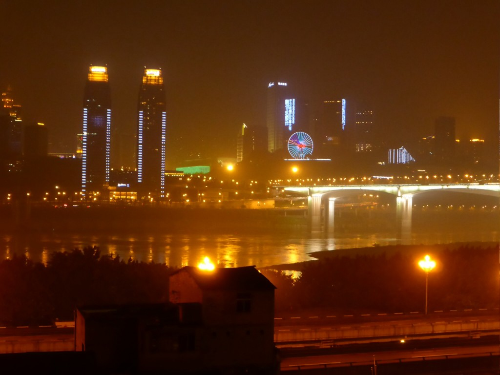 Chongqing bei Nacht