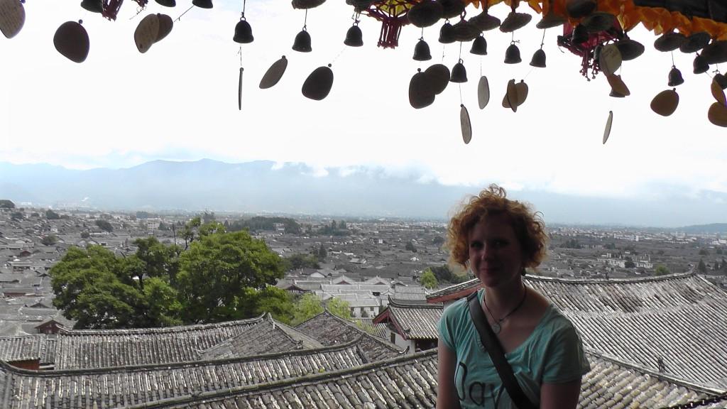 Über der Altstadt von Lijiang