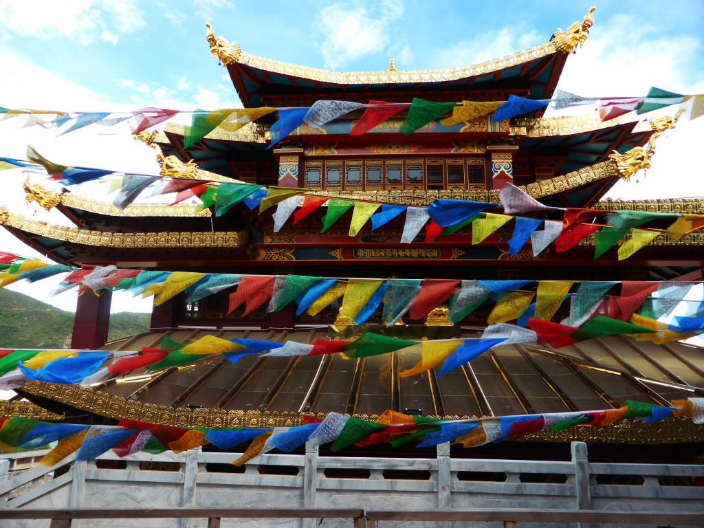 Kloster in Shangri-La