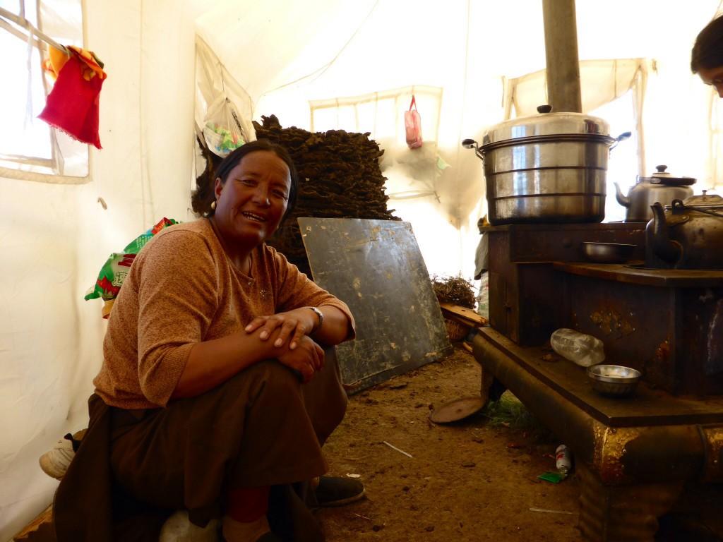 Bei den Nomaden im Zelt