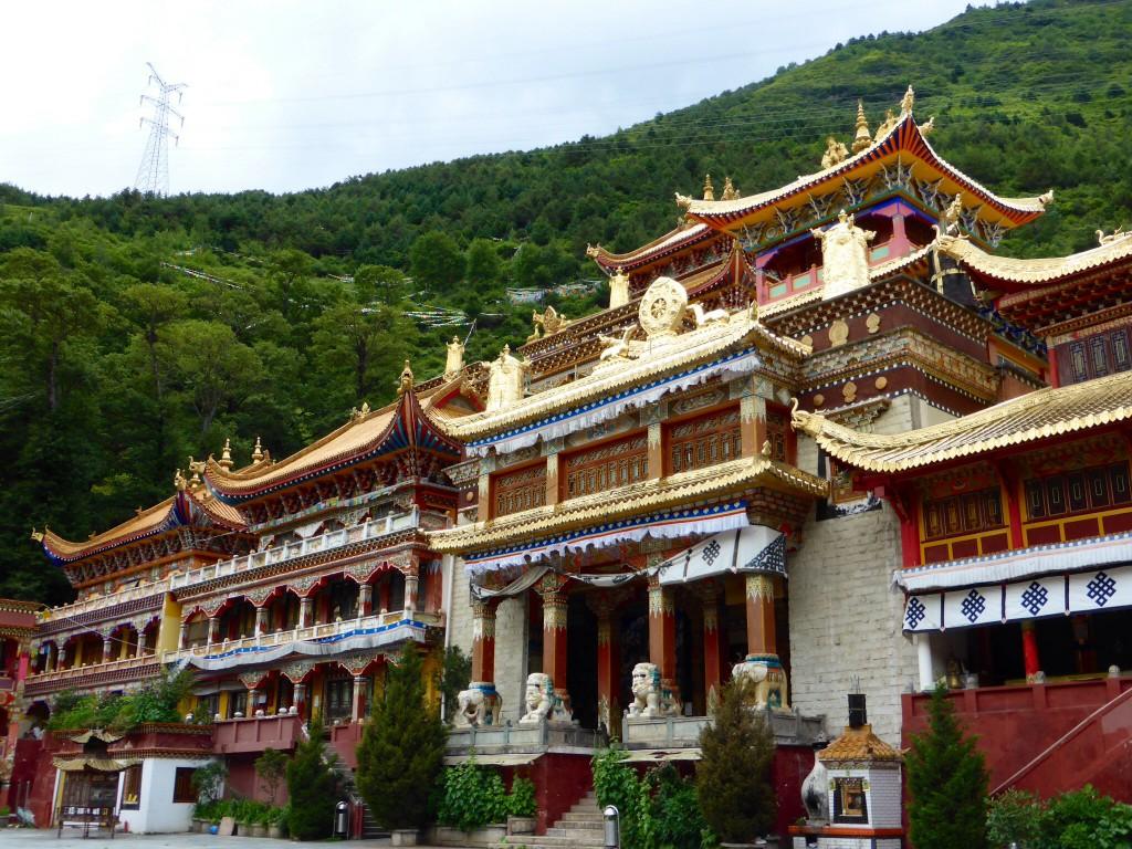 Das Kloster in Kangding