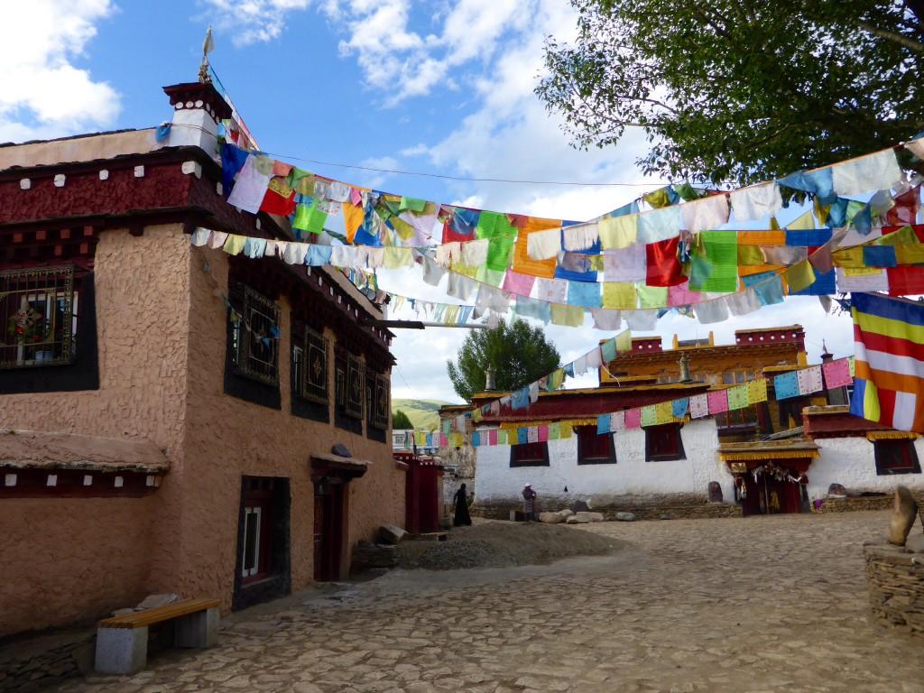 Das Geburtshaus des 7. Dalai Lamas