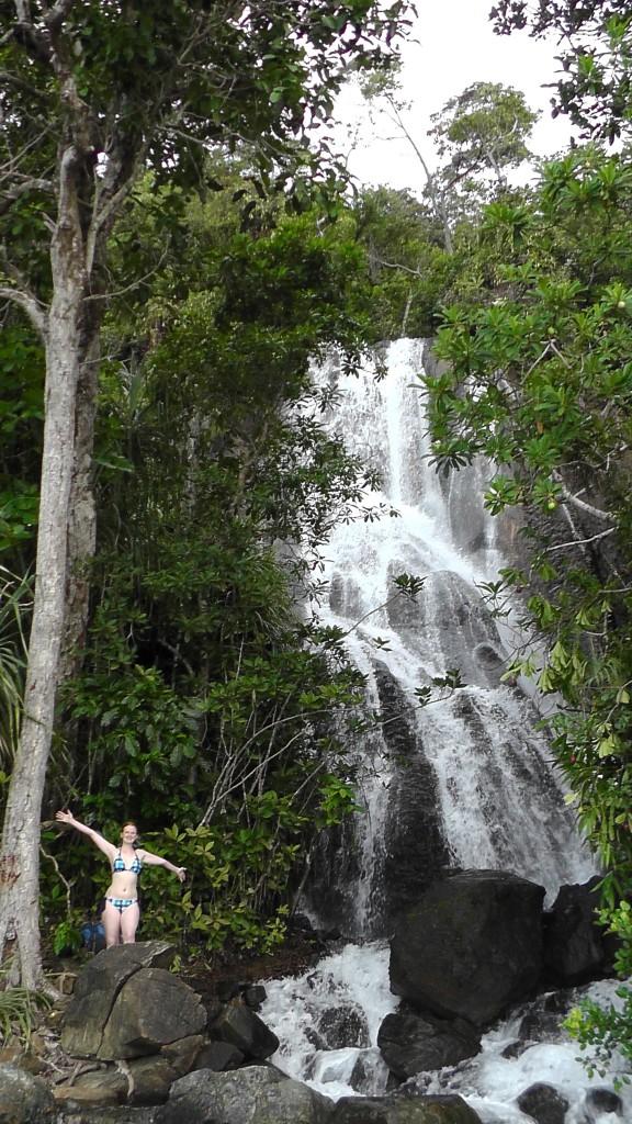 Versteckter Wasserfall bei Sabang