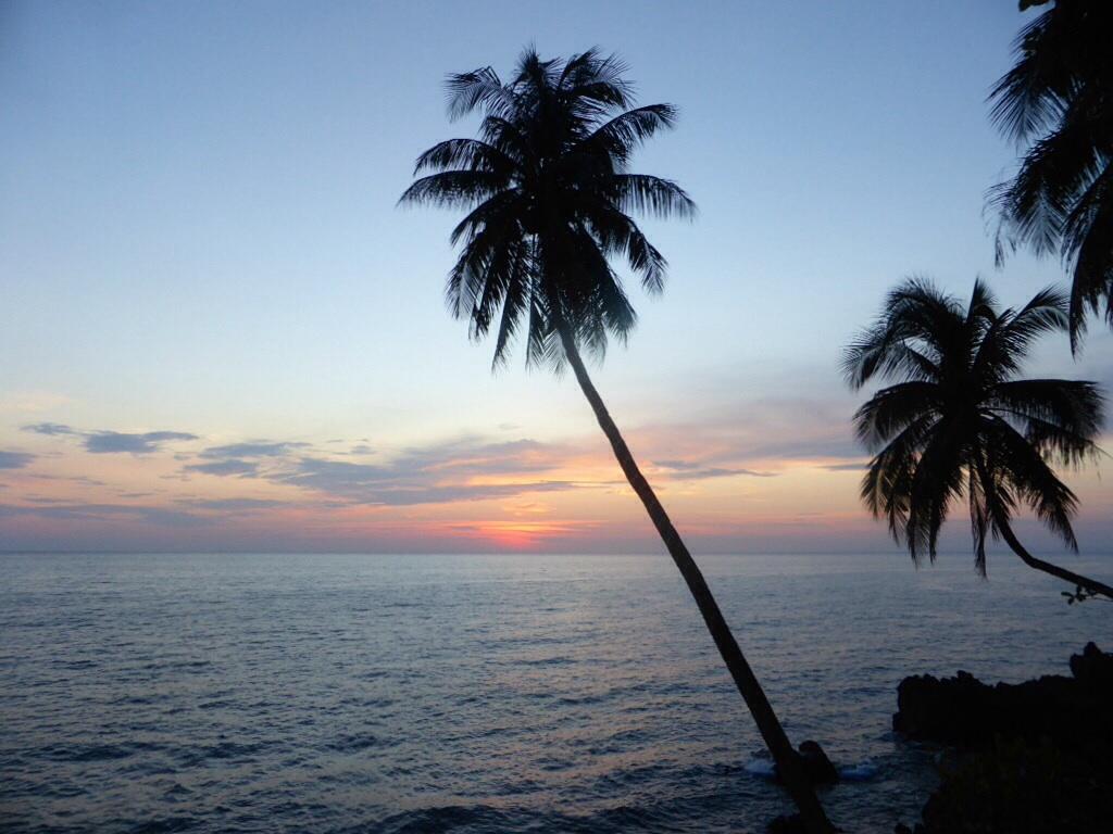 Sunset auf Camiguin