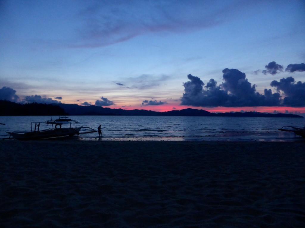 Sunset Port Barton