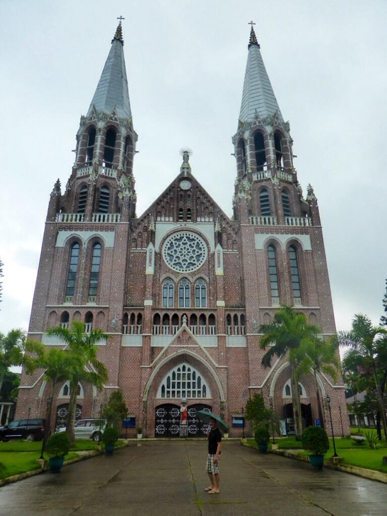 Die älteste Kirche Myanmars