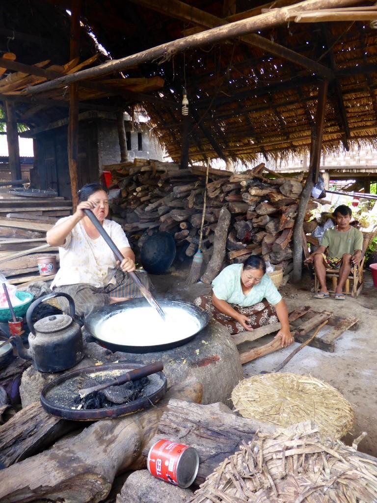 Tofuherstellung