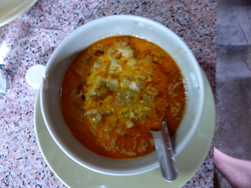 Yammy - selbstgekochtes Red Thai Curry