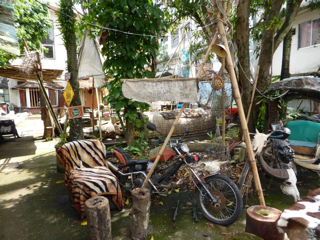Coole Biker-Bar in Chiang Rai