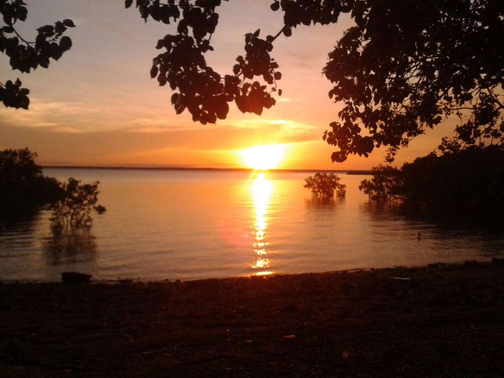 Sonnenuntergang in Darwin die 1.