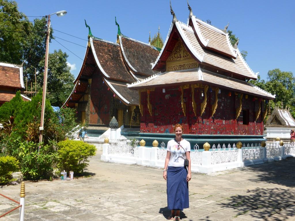 Im aeltesten Kloster Laos'