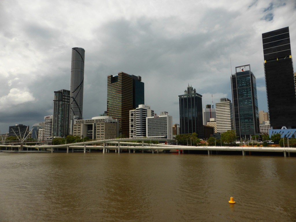 Skzyline von Brisbane