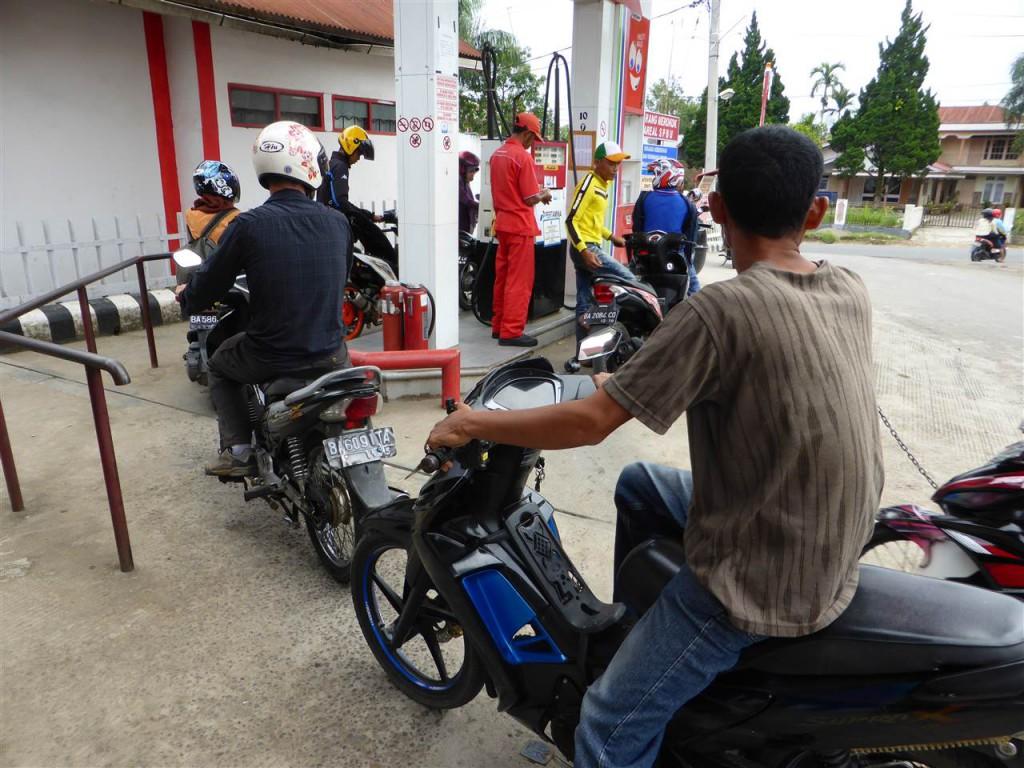Eigene Tankstelle für Mopeds