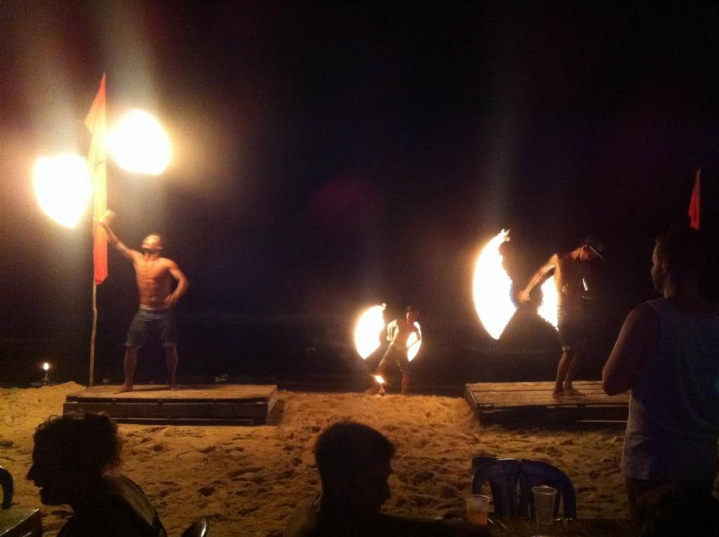 Night program in SIhanoukville