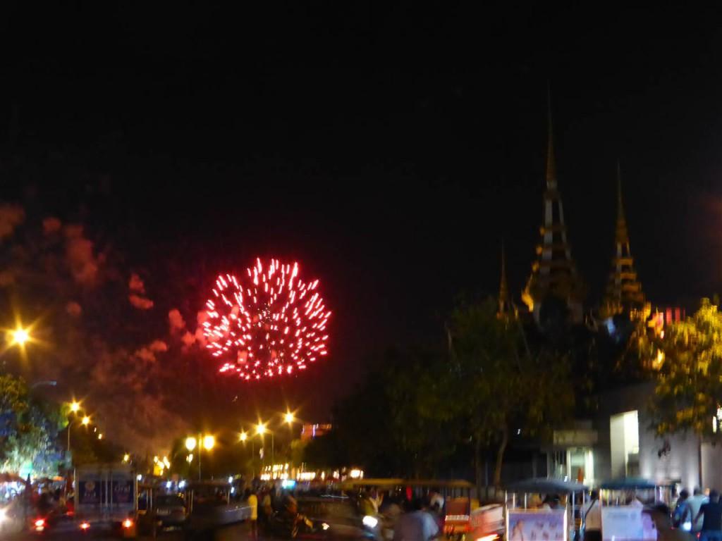 Feuerwerk zum Bonn Um Tok