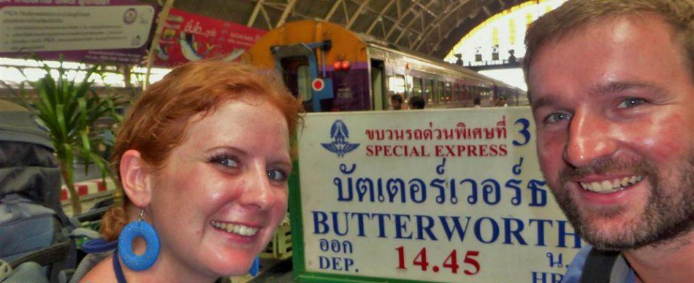 Mit dem Zug nach Malaysia