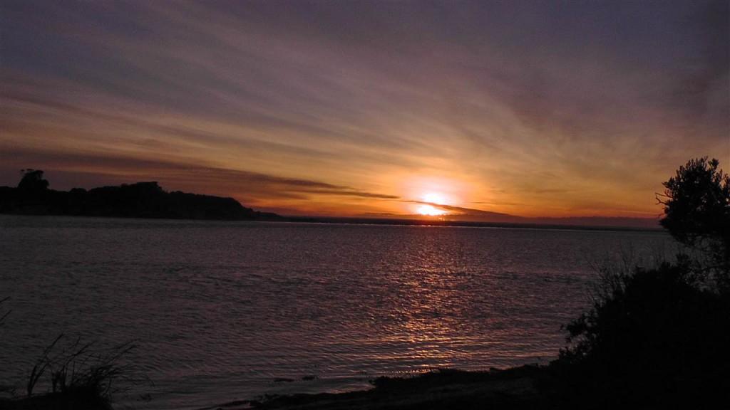 Sonnenuntergang im Mt. WIlliams Nationalpark